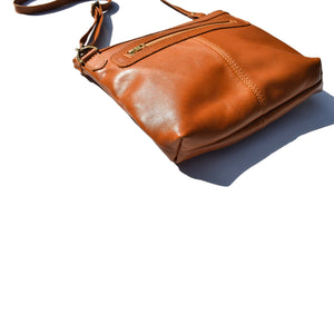 Jane - caramel and cognac - Mandara bags