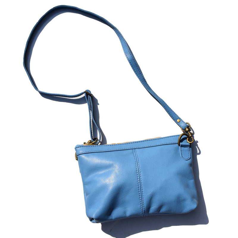 Jane - medium blue - Mandara bags