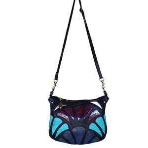 Large Atlantis cross-body bag- Breeze - Mandara bags