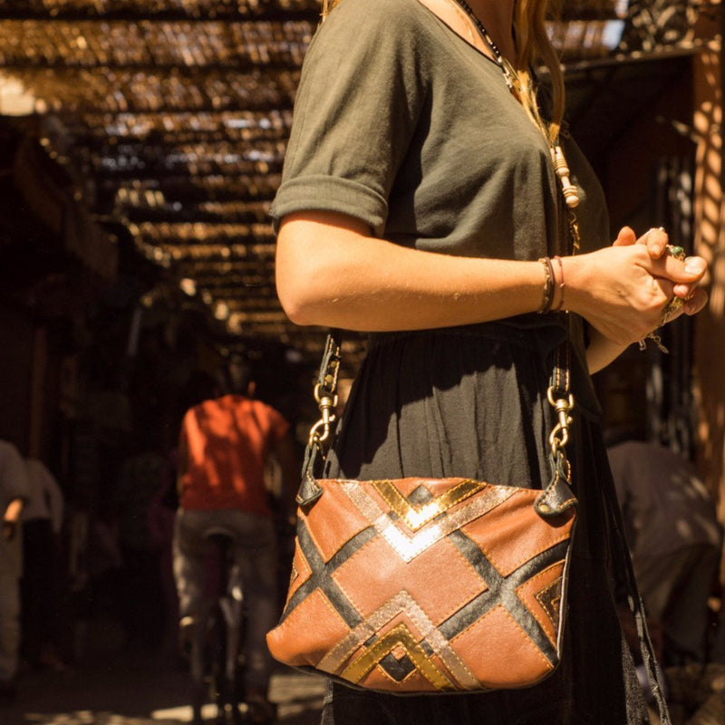 Leda cross-body handbag - Mandara bags