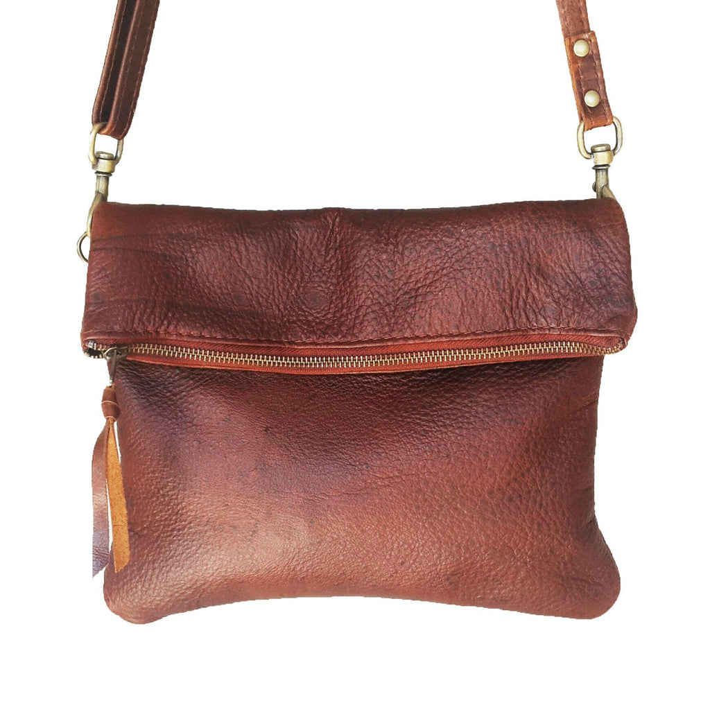 Olivia clutch /cross body handbag- gemsbok - Mandara bags