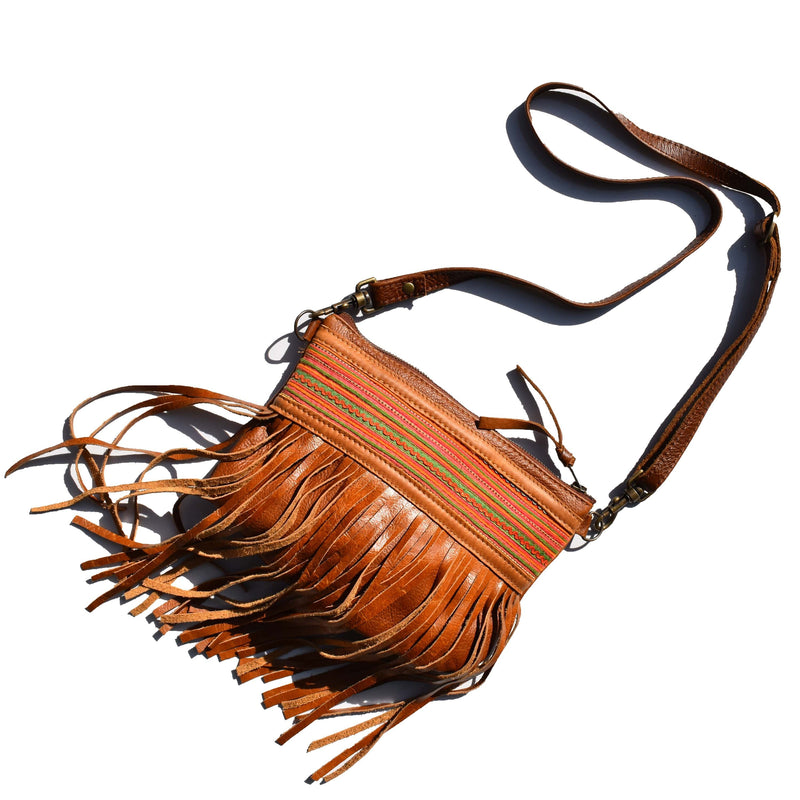 Pocahontas cross body handbag 003 - Mandara bags