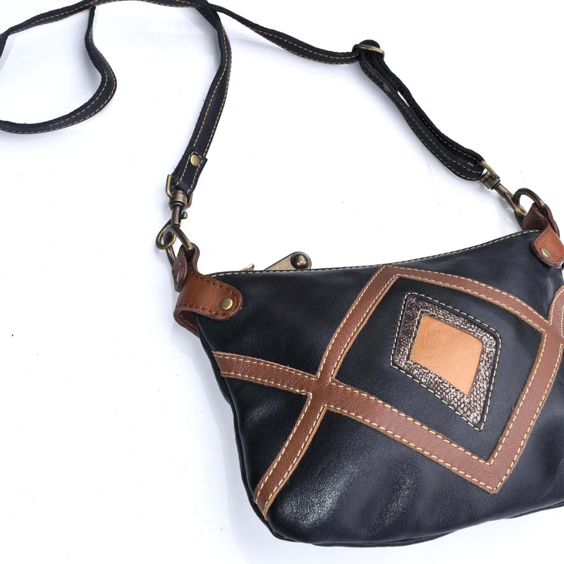 Mandara cross-body bag Stella-  black