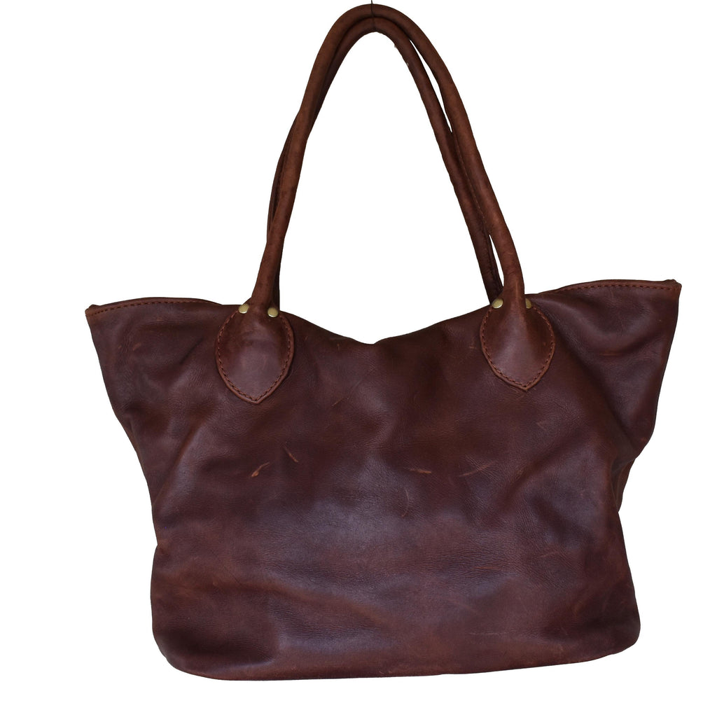 Diesel brown Tulip tote- medium - Mandara bags
