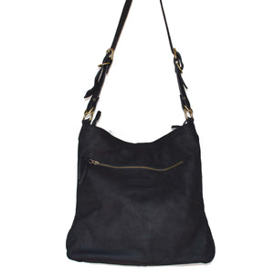 Large Black Bonnie handbag - Mandara bags