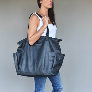 Milena carry all tote- black - Mandara bags