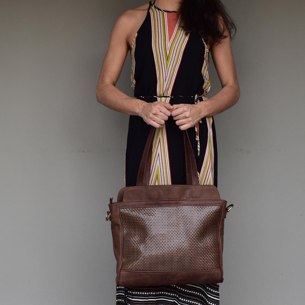 Woven Luna Business bag - Mandara bags