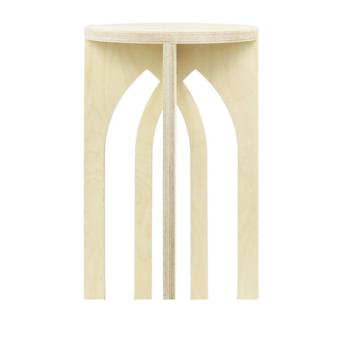 Interlaced Arch Stool