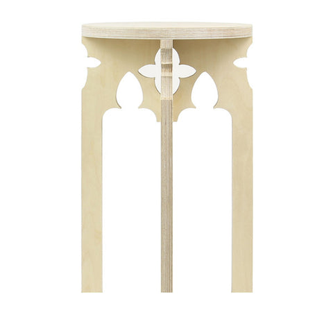 Venetian-Gothic Arch Stool