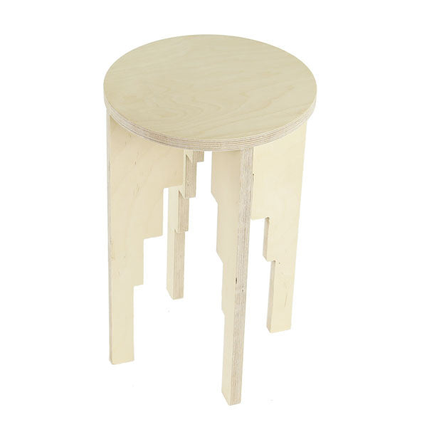 Corbelled Arch Stool