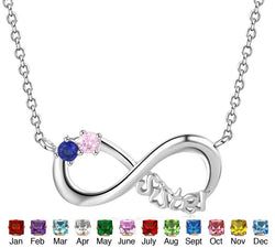 Birthstone Sister Necklace