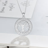 Tree of Life Pendant + Chain