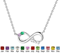 Birthstone Love Necklace