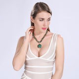 Chunky Ladies Bohemian style fashion necklace - Cardina Jewels - 4