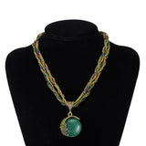 Chunky Ladies Bohemian style fashion necklace - Cardina Jewels - 5