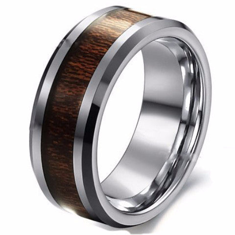 Men's Tungsten Carbide Ring - Cardina Jewels - 1