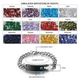 Elegant men's Stainless Steel Bracelet