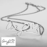925 Sterling Silver Handwritten Jewelry - Cardina Jewels - 5