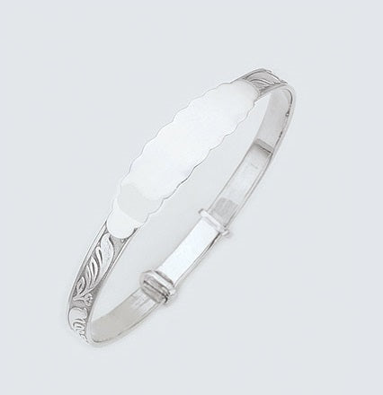 925 Sterling Silver Baby Bangle