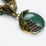 Chunky Ladies Bohemian style fashion necklace - Cardina Jewels - 1
