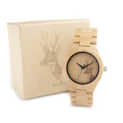 BOBO Genuine Bamboo watch, E04