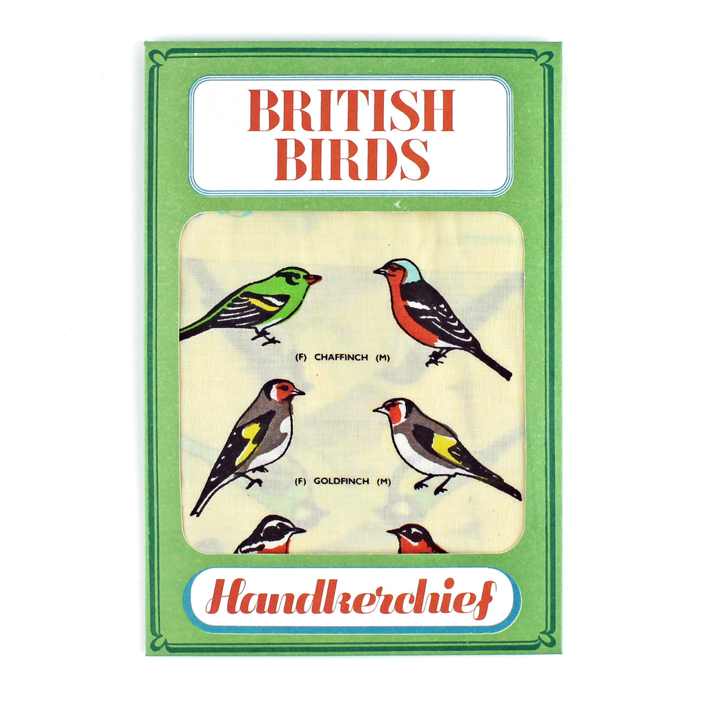 British Birds Handkerchief - Sukie