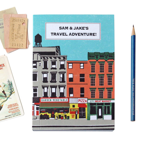 Personalised Downtown Travel Journal