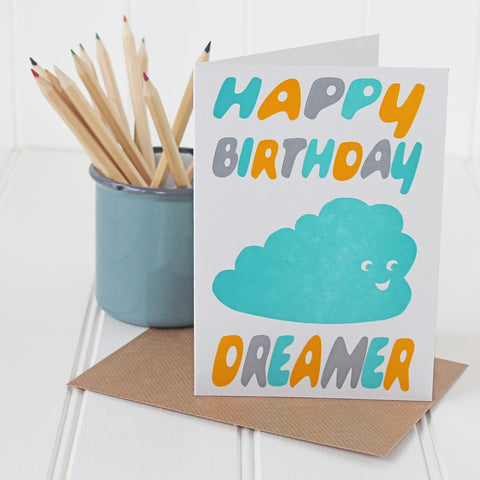 Happy Birthday dreamer card