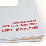 Rescued Notebook made from used envelopes - Sukie
