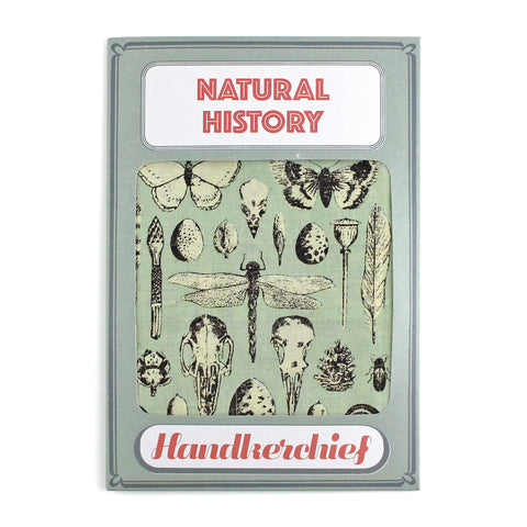 Natural History Handkerchief
