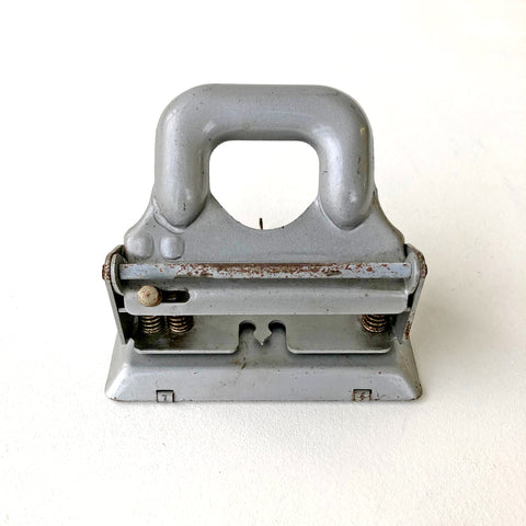 Mid 20th Century Silver Hole Punch
