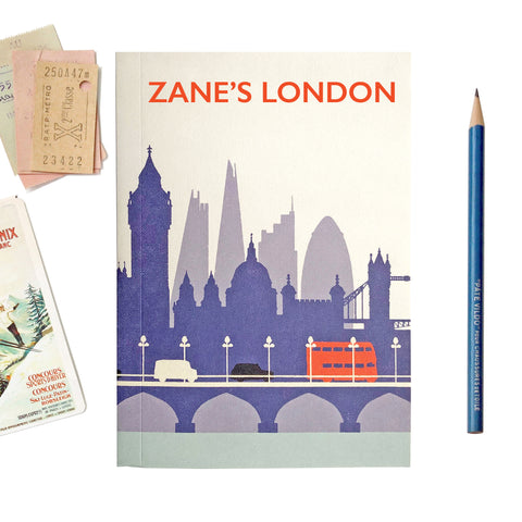 Personalised London Travel Journal