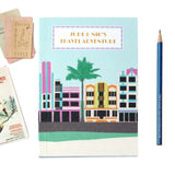 Personalised Miami Deco Travel Journal - Sukie