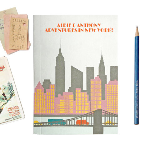 Personalised New York Travel Journal