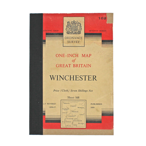 OS Map Cover Book
