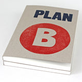 Plan B LETTERPRESS Notebook - Sukie