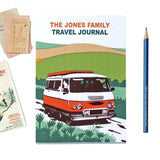 Personalised Red Sunshine Camper Travel Journal