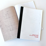Large Rescued Paper Notebook Plans - Sukie