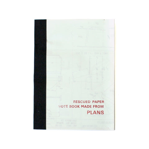 Small Rescued Paper Notebook Plans