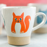 Ceramic Squirrel Mug - Anna Squirrel - Sukie