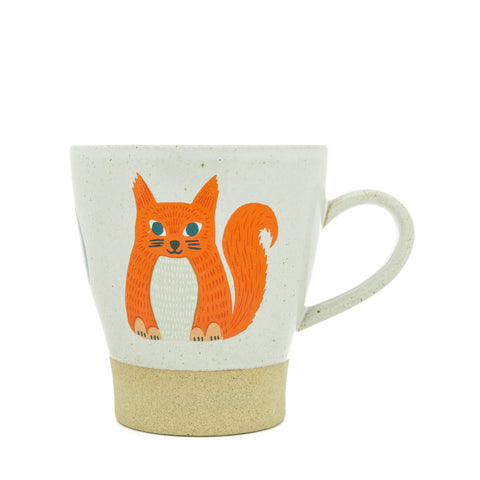 Ceramic Squirrel Mug - Anna Squirrel