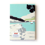 Beach Camper Travel Journal With Green Camper Van - Sukie