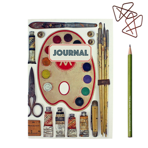 Vintage Style Artist Journal