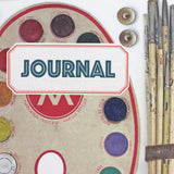 Vintage Style Artist Journal - Sukie