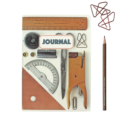 Vintage Style Office Journal