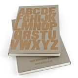 LETTERPRESS A to Z Notebook - Sukie