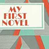 'My First Novel' Notebook with geometric design - Sukie