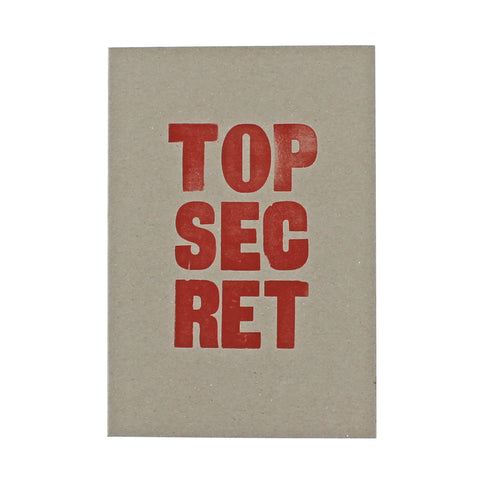 LETTERPRESS Top Secret