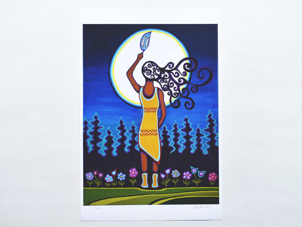 Woman & Grandmother Moon