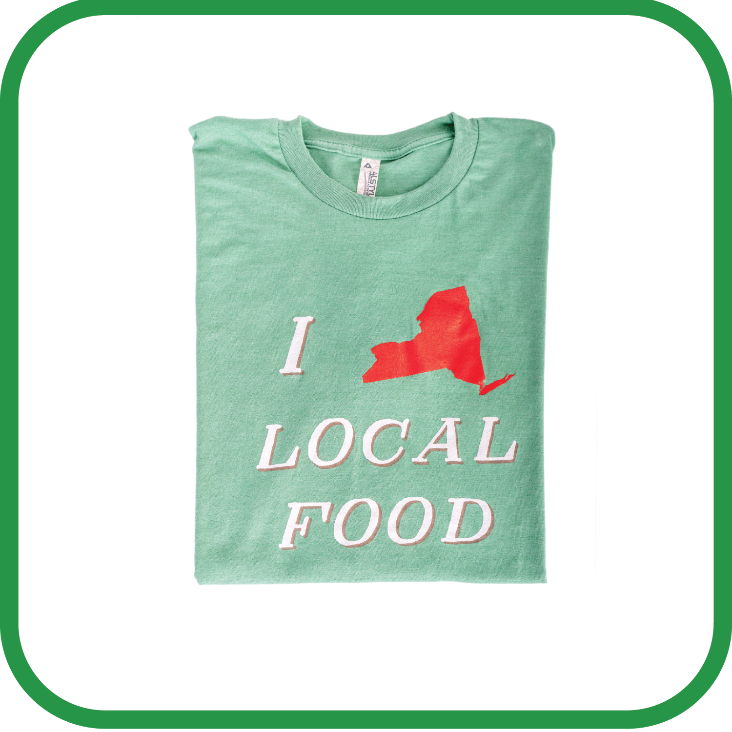I Love Local Food T-Shirt